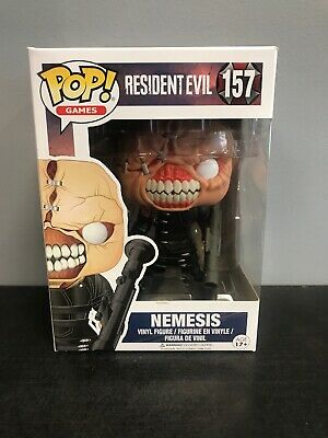 Funko Pop! Resident Evil Nemesis #157 - Vaulted - Authentic - W/ Protector