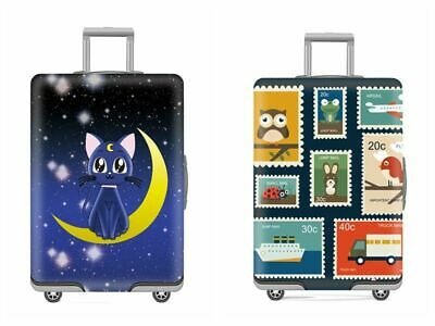 Cartoon Printed Suitcase Protective Covers Giraffes Trolley Case Travel Luggage