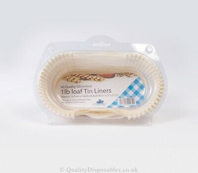 Essential Housewares Siliconised Loaf Tin Liners