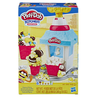 Play-Doh Kitchen Creations Popcorn Party Play Set