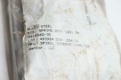 Pack of 1200 - Alloy Steel Pin Spring MS16562-35