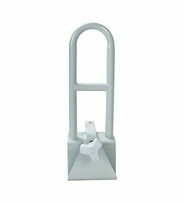 Secure BBTGB-1 Bathtub Grab Bar Bathroom Safety Rail, White - Durable Powder C1