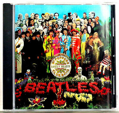 The Beatles - Sgt. Pepper's Lonely Hearts Club Band 1987 Parlophone CD No B/code
