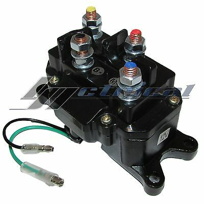 ATV Winch Solenoid For Ramsey Warn Superwinch Champion 2500 3000 3500 4500 lb
