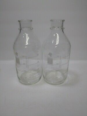 Amsco Medical Products 2 Glass Bottles 1000ML