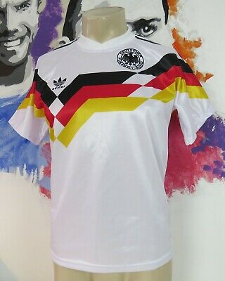 Retro Germany World Cup 1990 Euro 1988 home shirt adidas remake size S Vintage
