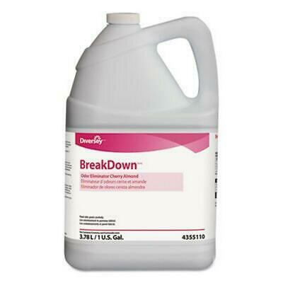 Qty 3 Diversey BreakDown Odor Eliminator - Concentrate - 1 gal, 128 fl oz