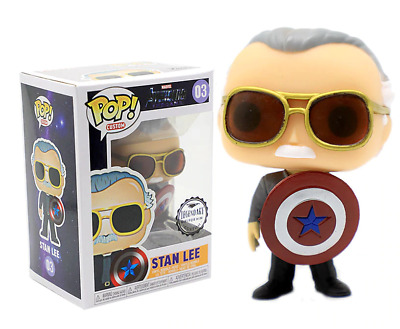FUNKO! POP! Avengers: Endgame Stan Lee Action Figure! Collection Toy Marvel NEW