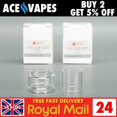 VAPTIO TYRO OFFICIAL Pyrex Glass Pieces - Straight or Bulb Bubble Fatboy Tube