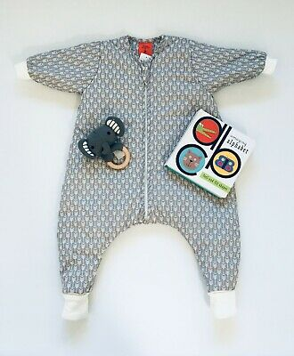 12-24 Mths 3.5 Tog. Thick Winter Baby/Toddler Sleep Suit. Excellent Quality