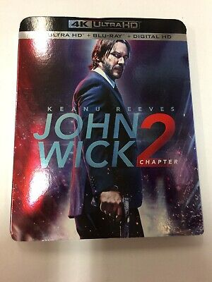 John Wick: Chapter 2 [New 4K UHD Blu-ray] With Blu-Ray+ Digital