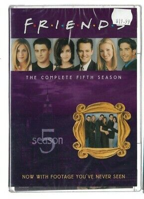 1x Brand New Sealed DVD - TV Series  - FRIENDS - SEASON 5