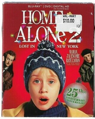 1x Brand New Sealed BLU-RAY / DVD / DIGITAL HD - HOME ALONE 2   - Also In French