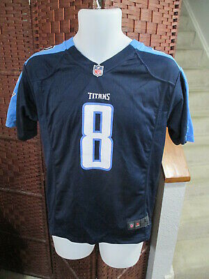 Top MEN'S TENNESSEE TITANS Marcus Mariota Jersey NFL Football Large Home