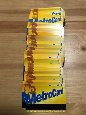 100 Used And Expired New York City Mta Metrocard