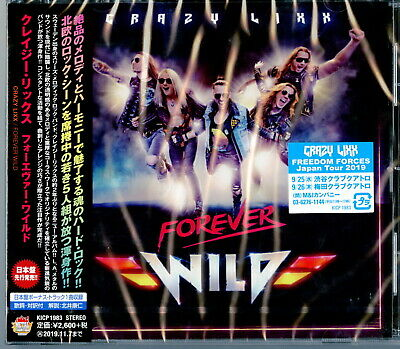 Crazy Lixx-Forever Wild-Japan CD F83
