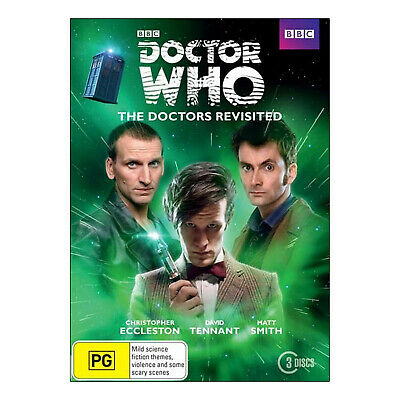 Doctor Who: The Doctors Revisited 3 NTSC DVD New - Ecclestion, Tennant, Smith