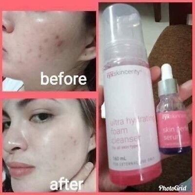 RYXskincerity Foam Cleanser and Perfecting Serum. (New Stocks) US Reseller
