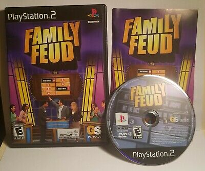 FAMILY FEUD SONY Playstation 1 PS1 System Complete Game - $7 95