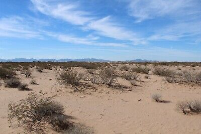 Manufacture Home lot with Gorgeous Views in Dateland, AZ