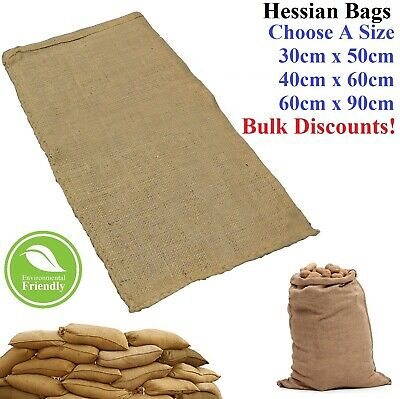 Food Produce Hessian Bags Potato Coffee Horse Rabbit Feed Jute Sacks Sandbags