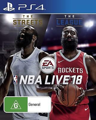 NBA Live 18 The One Edition Basketball Sports Video Game Sony Playstation 4 PS4