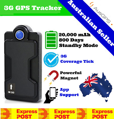 Wireless 3G Car GPS Tracker | 10,000 mAH Battery | AAA Magnet | 2 Year Warranty
