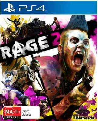 Rage 2 Sony PS4 Playstation 4 Apocalyptic Open World Shooter Game