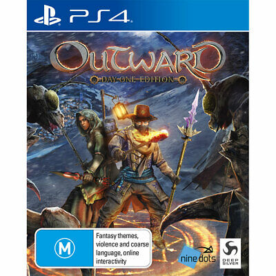 Outward Sony PS4 Playstation 4 Rare RPG Action Adventure Role Playing Game