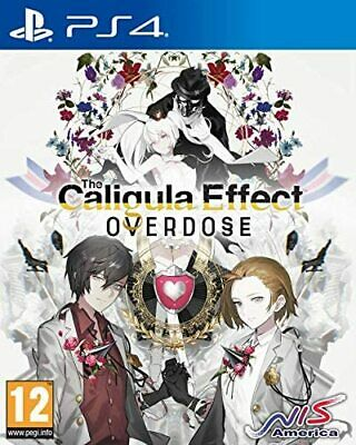 Caligula Effect Overdose School Fantasy RPG Action Game Sony PS4 Playstation 4