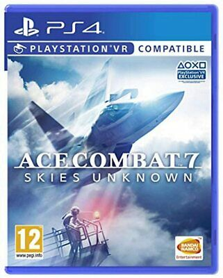 Ace Combat 7 Skies Unknown VR Flight Sim Dogfight Game Sony Playstation 4 PS4