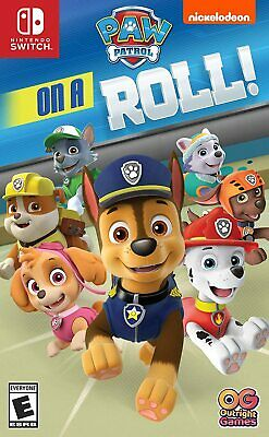 Nickelodeon Paw Patrol On A Roll Nintendo Switch NS Family Kids Adventure Game