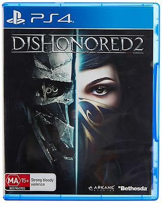 Dishonored 2 Assassin Action Adventure Game For Sony Playstation 4 PS4