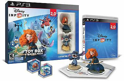 Disney Infinity 2.0 Toy Box Starter Pack Sony PS3 Playstation 3 Toy To Life Game