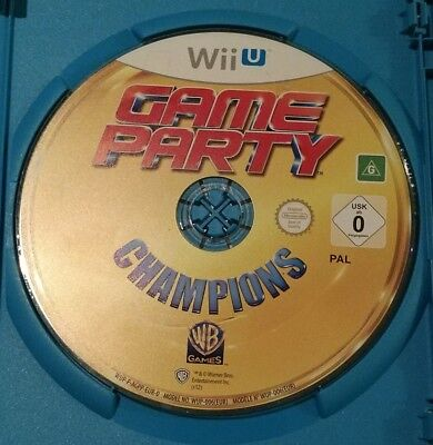 Game Party Champions Family Kids Parties Fun Skills Video Game Nintendo Wii U