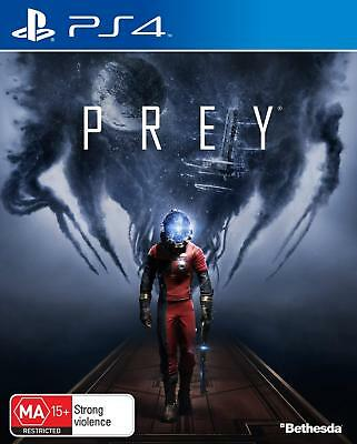 Prey Sci Fi Action Adventure First Person Shooter Game Sony Playstation 4 PS4