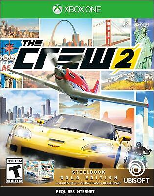 The Crew 2 Gold Edition Car Boat Plane Racing Game For Microsoft XBOX One