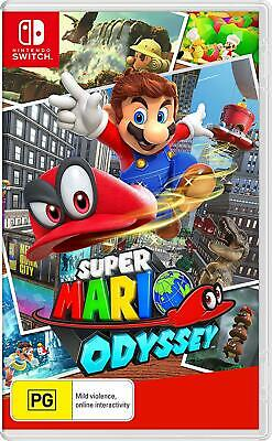Super Mario Odyssey Nintendo Switch NS Platformer Action Adventure Game