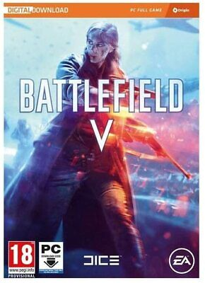 BF5 Battlefield V 5 PC Windows Download Only WW2 FPS Shooter War Strategy Game