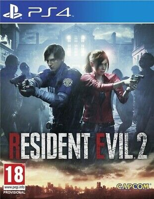Resident Evil 2 Zombie Apocalypse Survival Horror Game Sony Playstation 4 PS4