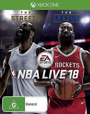 NBA Live 18 The One Edition Basketball Sports Video Game Microsoft XBOX One XB1