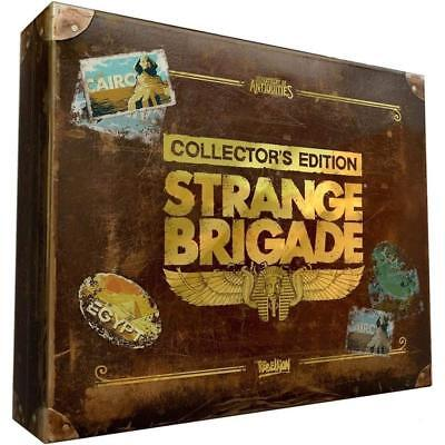 Strange Brigade Collectors Edition RPG Adventure Game For Sony Playstation 4 PS4
