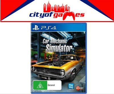 Car Mechanic Simulator PS4 Game Brand New In Stock