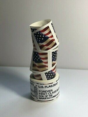 1000 FOREVER STAMPS  10 rolls of 100 USPS Stamps***FREE PRIORITY SHIPPING***