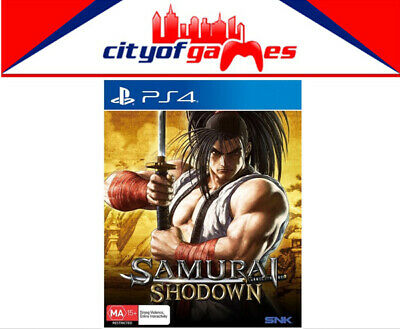 Samurai Showdown PS4 Game Brand New In Stock