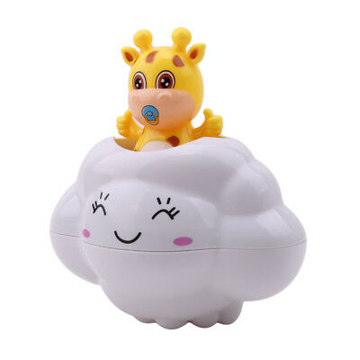 Baby Rain Cloud Bath Water Toys Shower Water Play Game Bathtub Accessories