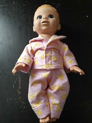 Homemade Luvabella Baby Pink with Ducks  Pyjama Set