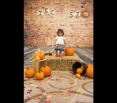Photography Backdrops Brick Wall Wood Floor Wall Paper Party Photo Backgrounds