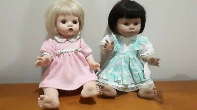 2 x Baby So Beautiful Dolls - 35cm - Final Reduction in Price