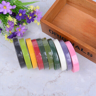 Florist Stem Tape Wire Floral Floristry Work Corsages Button Holes Craft Fad_vi